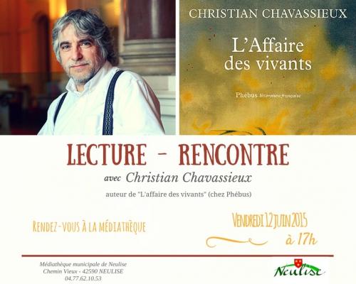 Neulise, Chavassieux, L'Affaire des Vivants, Mausolées, Phébus, Mnémos